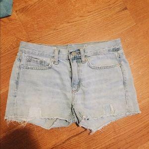 Gap light blue shorts